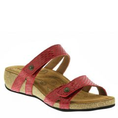 Taos Audition Leather Red Sandals