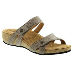 Taos Audition Leathe Taupe Sandals