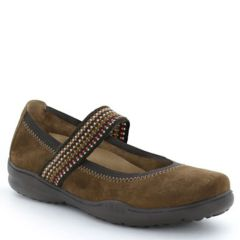 Taos Bandana Suede Brown Shoes