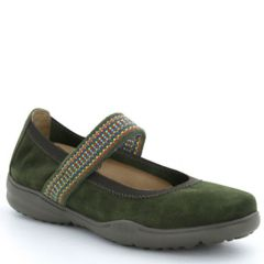 Taos Bandana Suede Forest Shoes