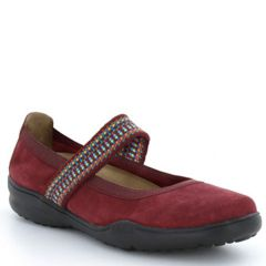 Taos Bandana Suede Red Shoes