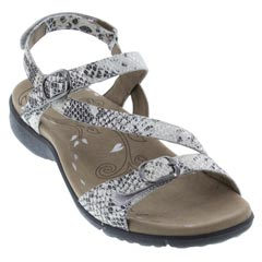 Taos Beauty Leather Bone Sandals