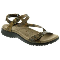 Taos Beauty Leather Tortoise Sandals