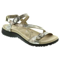 Taos Beauty Leather Silver Sandals