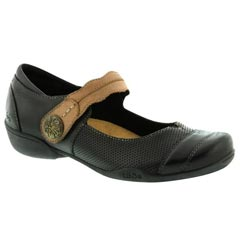 Taos Bravo Leather Black Multi Shoes