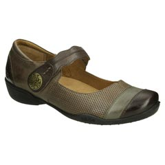 Taos Bravo Leather Chocolate Multi Shoes