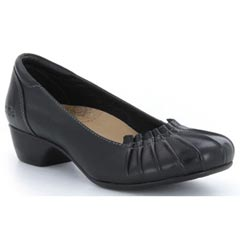 Taos Calypso Leather Black Shoes
