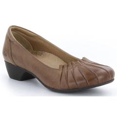 Taos Calypso Leather Saddle Tan Shoes