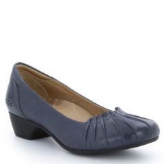 Taos Calypso Leather Dark Blue Shoes