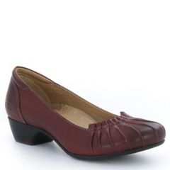 Taos Calypso Leather Deep Red Shoes