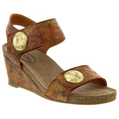 Taos Carousel 2 Leather Cinnamon Multi Sandals