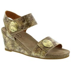 Taos Carousel 2 Leather Taupe Multi Sandals