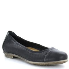 Taos Cleo Leather Black Shoes