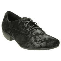 Taos Cobbler Suede Black Shoes