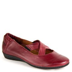 CROSSTOWN LEATHER CRANBERRY