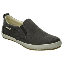 Taos Dandy Canvas Charcoal Wash Shoes