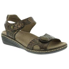 Taos Escape 2 Leather Bronze Sandals