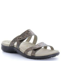 Taos Journey Leather Bronze Sandals