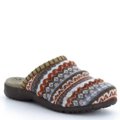 Taos Knitwit Acrylic Harvest Multi Clogs