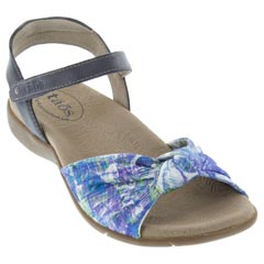 Taos Knotty Textile Blue Sandals