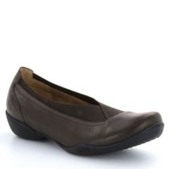 Taos Lilli Leather Chocolate Shoes