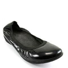 PATINA PATENT LEATHER BLACK
