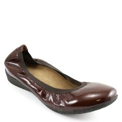 Taos Patina Patent Leather Sienna