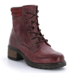 Taos Quest Leather Spice Red Boots