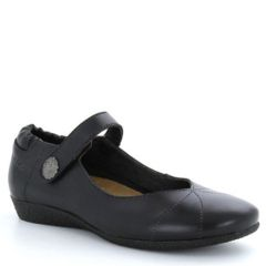Taos Recipe Leather Black Shoes