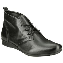 Taos Robin Leather Black Boots