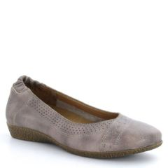 Taos Sleek Leather Stone Shoes