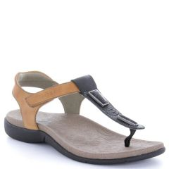 Taos Storyteller Leather Multi Sandals