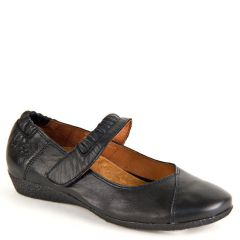 STRAPEZE LEATHER BLACK