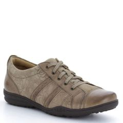 Taos Streamline Leather Taupe Shoes