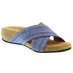 Taos Sunshine Textile Purple Multi Sandals
