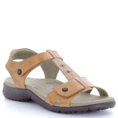 Taos Tranquil Leather Tan Sandals