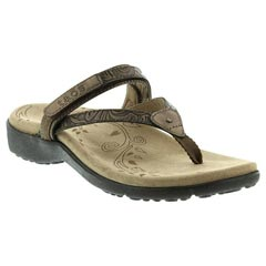 Taos Trip Leather Bronze Sandals