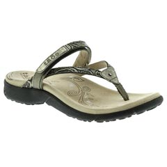 Taos Trip Leather Light Gold Sandals