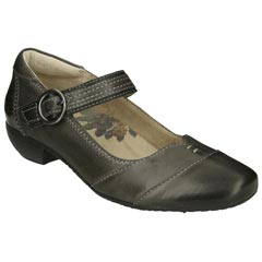 Taos Virtue Leather Grey Shoes