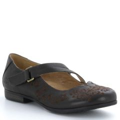Taos Wish Leather Chocolate Shoes