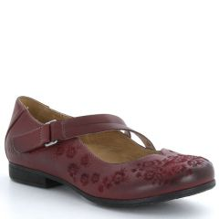 Taos Wish Leather Deep Red Shoes