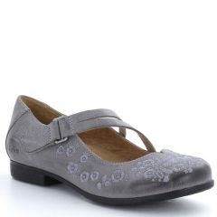 Taos Wish Leather Grey Shoes