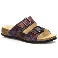 Think Julia Leather Multi Sandals