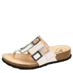 Think Julia Leather Shell Sandals