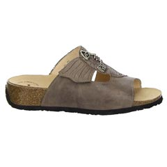 Think Mizzi Leather Tan Sandals