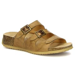 Think Mizzi Leather Kred Sandals