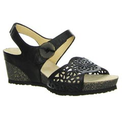 Think Zilli Leather Black Sandals