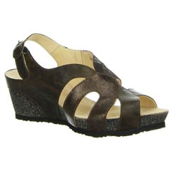 Think Zilli Leather Cafe Sandals