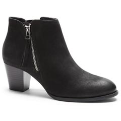 Vionic Sterling Leather Black Boots