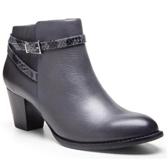 Vionic Upton Leather Dark Grey Boots